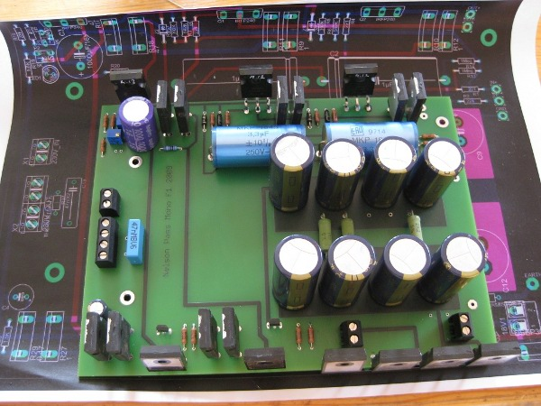Nelson Pass F1 DIY Amplifier: Soldered - awiller de <br> Dont Panic!